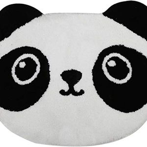 Xuanmuque Cartoon Panda Bathroom Tub Rugs Water Ab